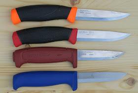 Kvalitní švédské nože