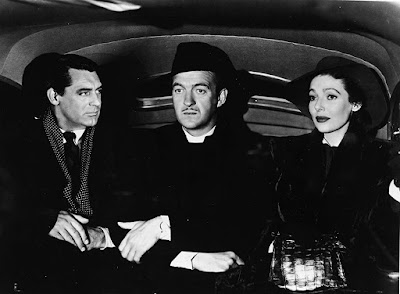 The Bishop's Wife 1947 movie still David Niven Cary Grant Loretta Young