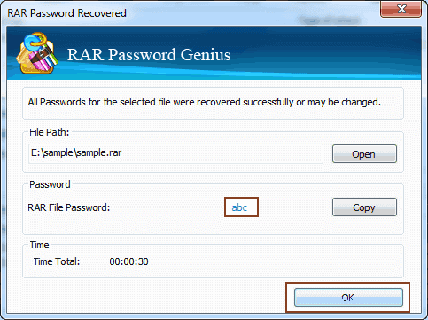 find rar password after forgot or lost