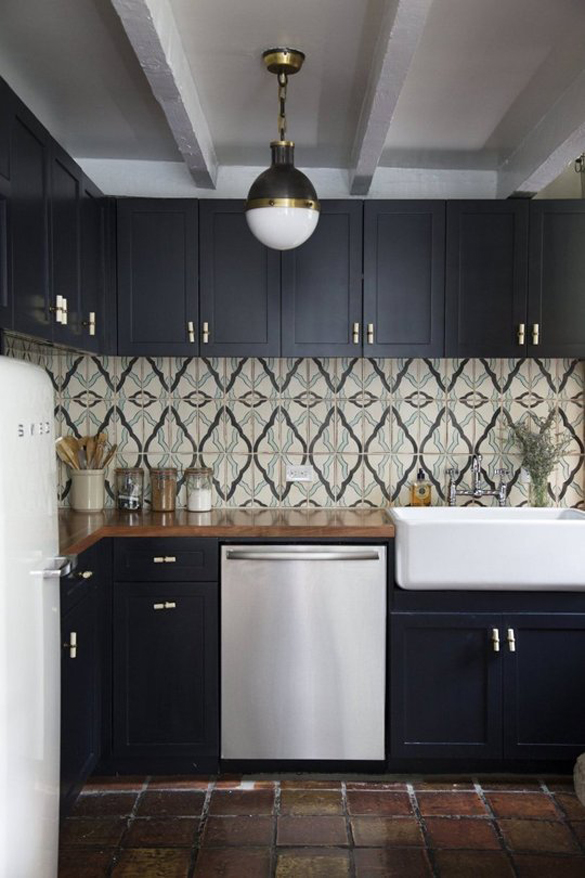 Architectural Digest Kitchen Backsplash