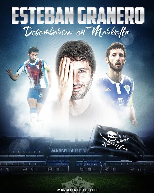 Oficial: El Marbella ficha a Esteban Granero hasta 2021
