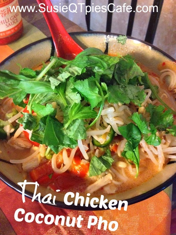 SusieQTpies Cafe: Thai Chicken Coconut Soup Or Chicken