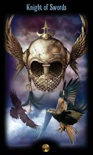 рыцарь мечей таро божественного наследия