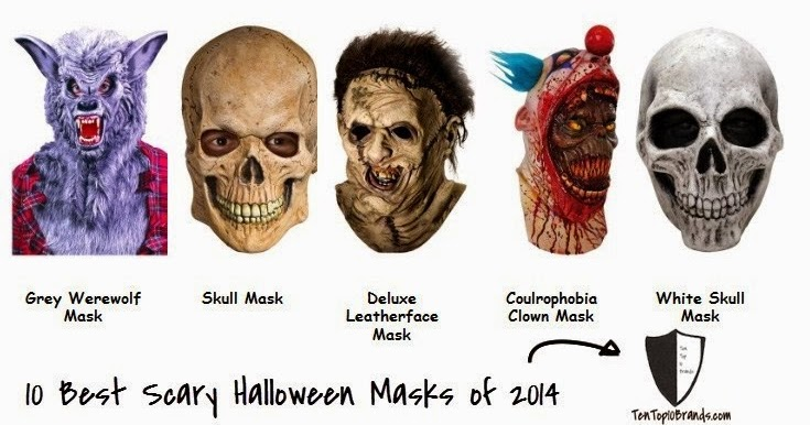 Realistic Scary Halloween Masks.Top 10 Best Selling Scary Halloween Masks Of 2014 Top 10 Brands
