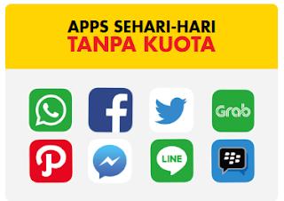 Aplikasi Tanpa Paket Data Indosat