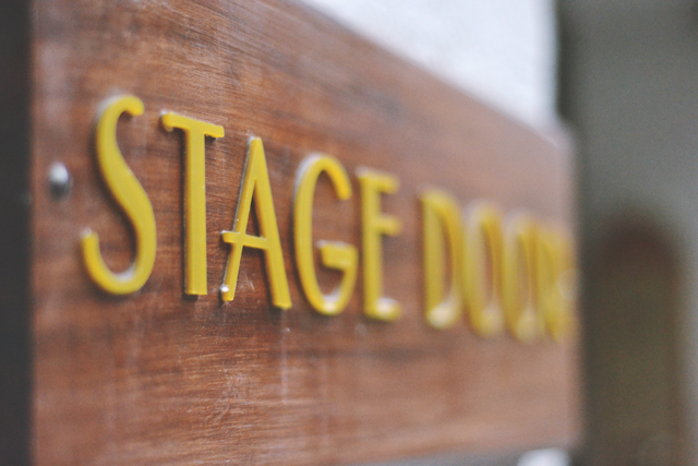 Fortune Theatre Stage Door