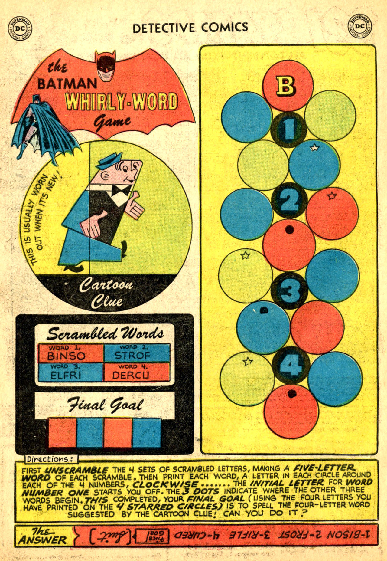 Read online Detective Comics (1937) comic -  Issue #227 - 34