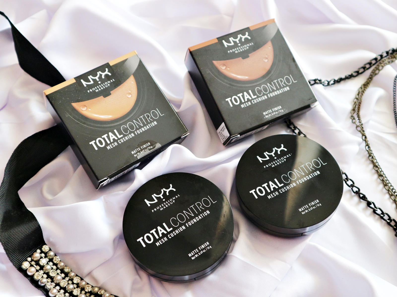 Thick Body And Thin Pocket Review Nyx Total Control Mesh Cushion
