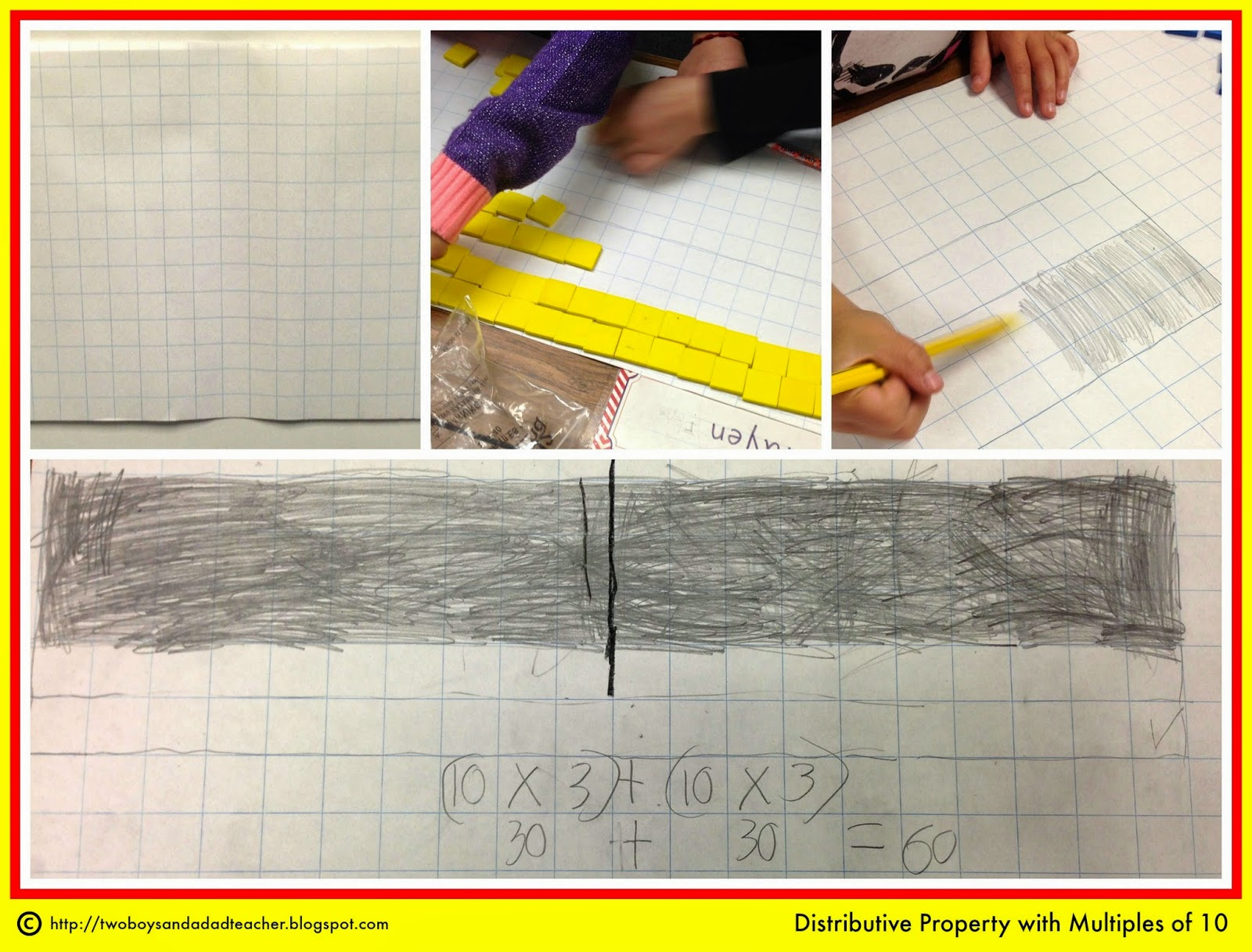 Hands On With The Distributive Property And Multiples Of