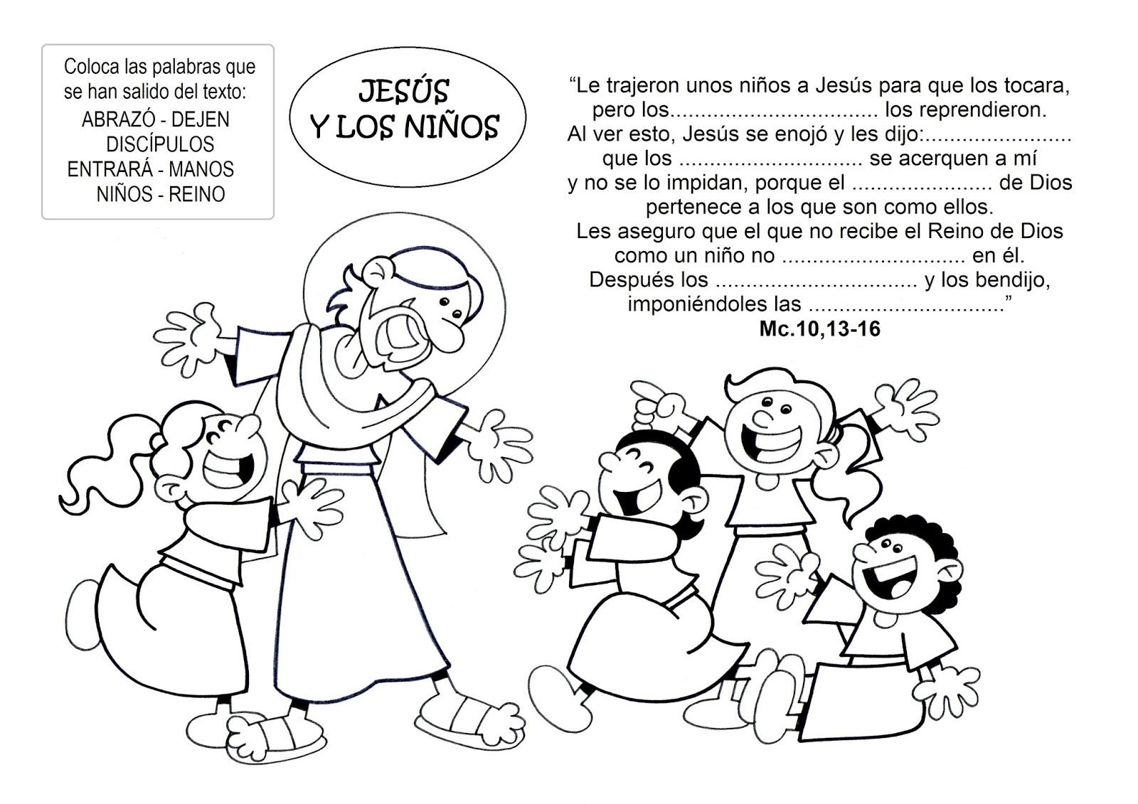 La Catequesis (El Blog De Sandra): Dibujos Para Colorear