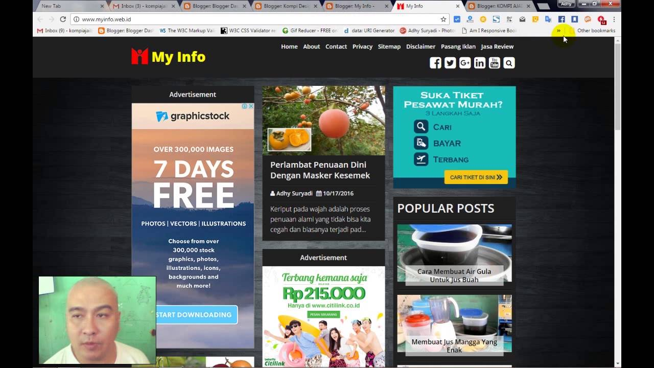 Merubah Blog Custom Template Menjadi AMP HTML Part 2