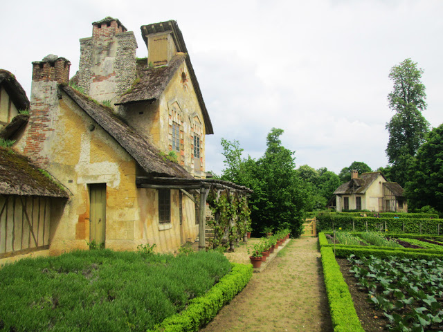 The Queen's Hamlet- Hameau de la Reine- in Versailles, France.