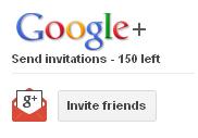 Google+ invite friends