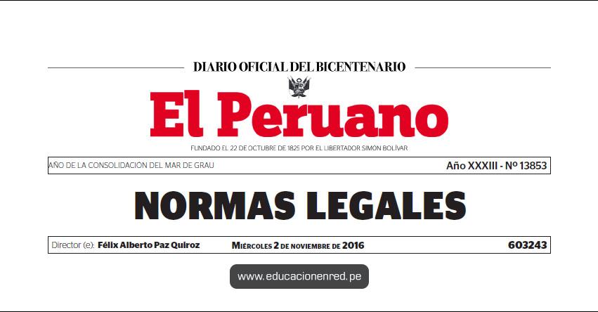 LEY Nº 30512 - Ley de Institutos y Escuelas de Educación Superior y de la Carrera Pública de sus Docentes - www.congreso.gob.pe | www.minedu.gob.pe