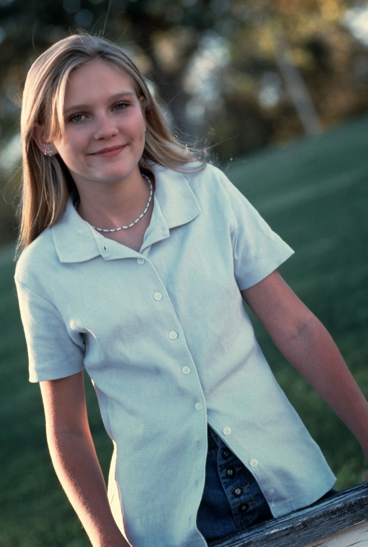 Beautiful Kirsten Dunst as a Teenager in 1995  vintage