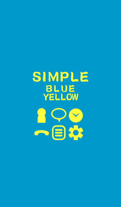 SIMPLE blue*yellow*