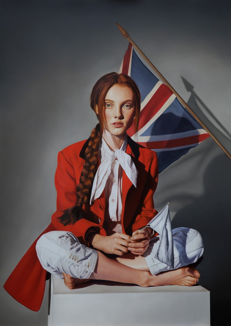 Figurative Paintings by Mary Jane Ansell.