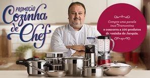 Promoção Cozinha de Chef Tramontina
