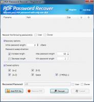 تحميل  WONDERFULSHARE PDF PASSWORD RECOVER لاستعادة كلمة السر لملفات PDF مع كود التفعيل free key