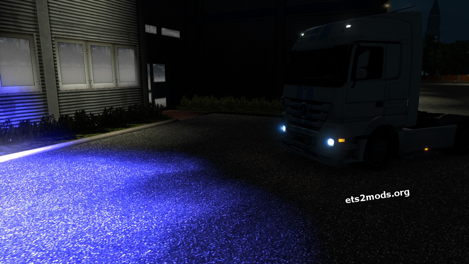 Mod - Dark Blue Xenon