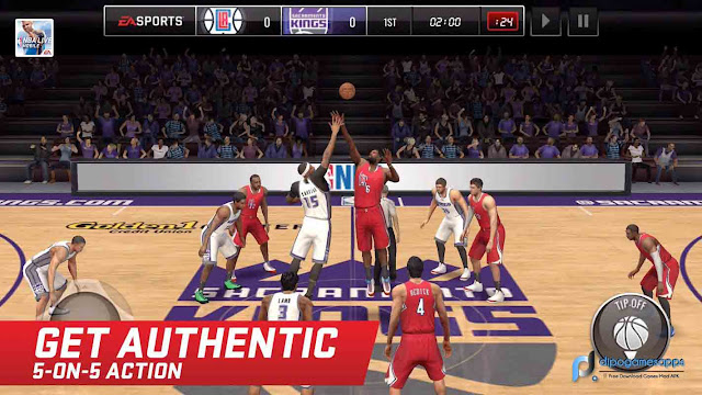 Download NBA Live Mobile MOD APK Latest Version