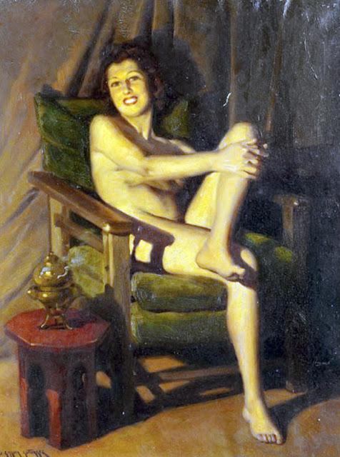 Julio García Gutiérrez,  Il nude in arte, Artistic Nude
