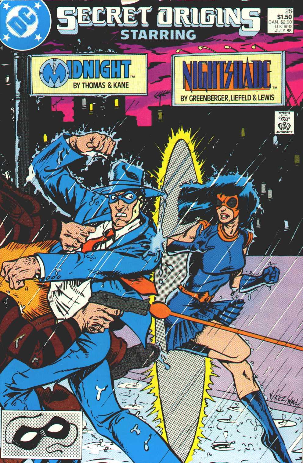 Read online Secret Origins (1986) comic -  Issue #28 - 1
