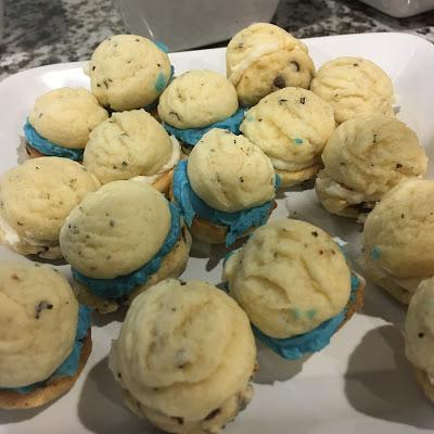 sweet and savory sandwich cookies