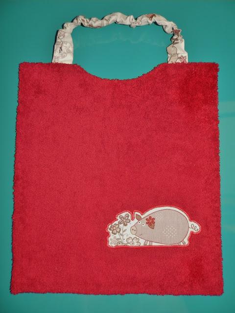 Coton et Création : serviette élastiquée