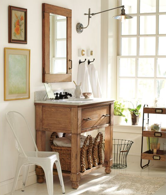 Best Paint For Bathrooms With Humidity: SOMMERWHITE: COUNTRY CHARM