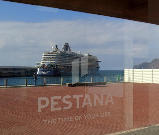 Pestana CR7 and the cruise ship