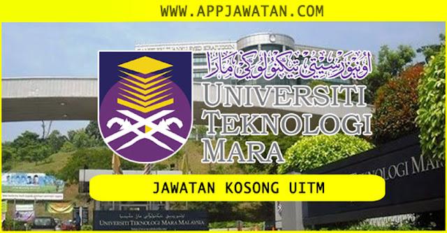 Iklan Jawatan Kosong Terkini di Universiti Teknologi MARA (UiTM)