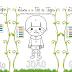 João e o Pé de Feijão - Relacione números as cores e colorindo os personagens