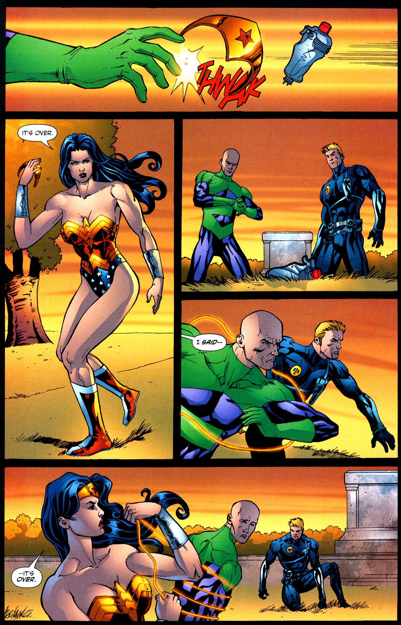 Read online Wonder Woman (2006) comic -  Issue #12 - 19