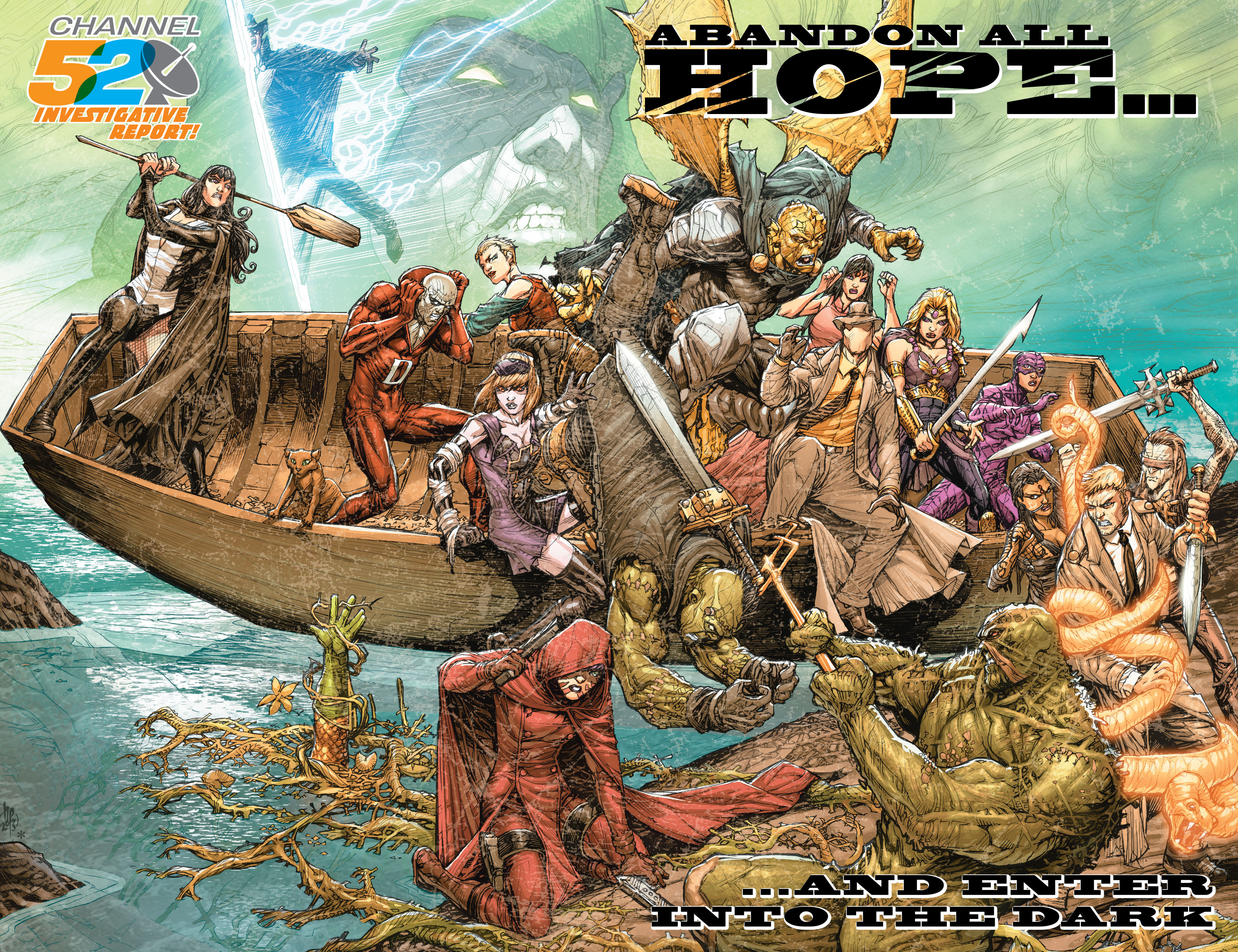Read online Aquaman (2011) comic -  Issue #27 - 22