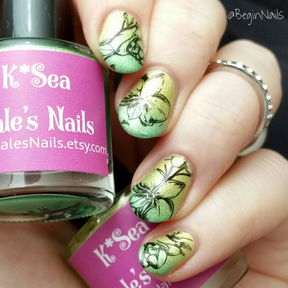 Let\'s Begin Nails: Mitty Easy Peel Off Mani Tape Review