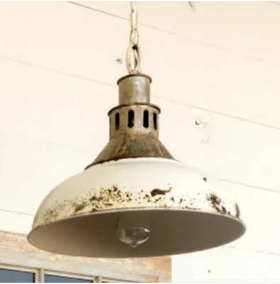 industrial retro pendant light