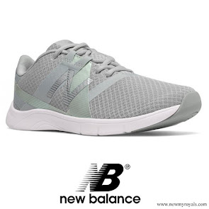 Kate Middleton wore New Balance trainers