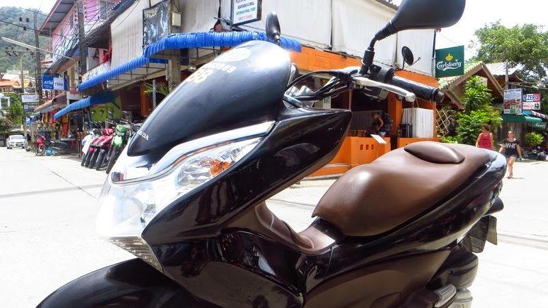 Прокат скутера на Тао
