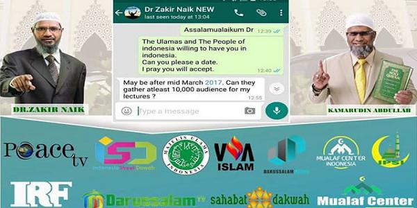 Bersiap Siaplah ! Kunjungi Indonesia Maret 2017, Dr Zakir Naik Minta Disiapkan 10.000 Jamaah