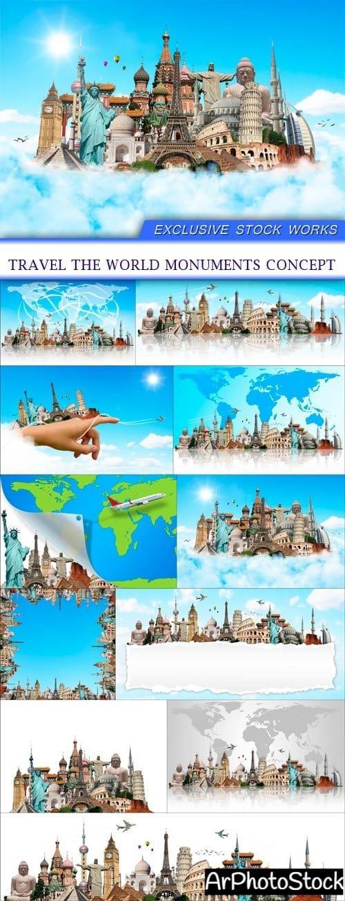 تحميل 11 صورة للسياحة والسفر حول العالم بجودة عالية