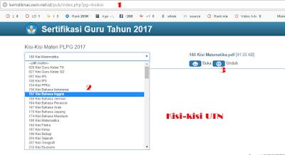Bocoran Download Kisi-kisi UTN (PLPG) dan Materi PLPG 2017 img