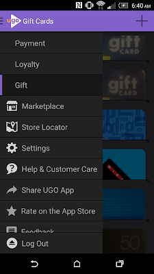 UGO Wallet Mobile App