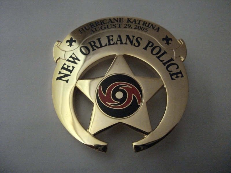 Louisiana Police Patches Collector: New Orleans Badges