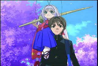 Himmel Und Erde Ist Ein Anime 2004 Hat Insgesamt Mit 2 OVAs 26 Episoden Das Genre Ecchi Fighting Etwas Romanze Comedy