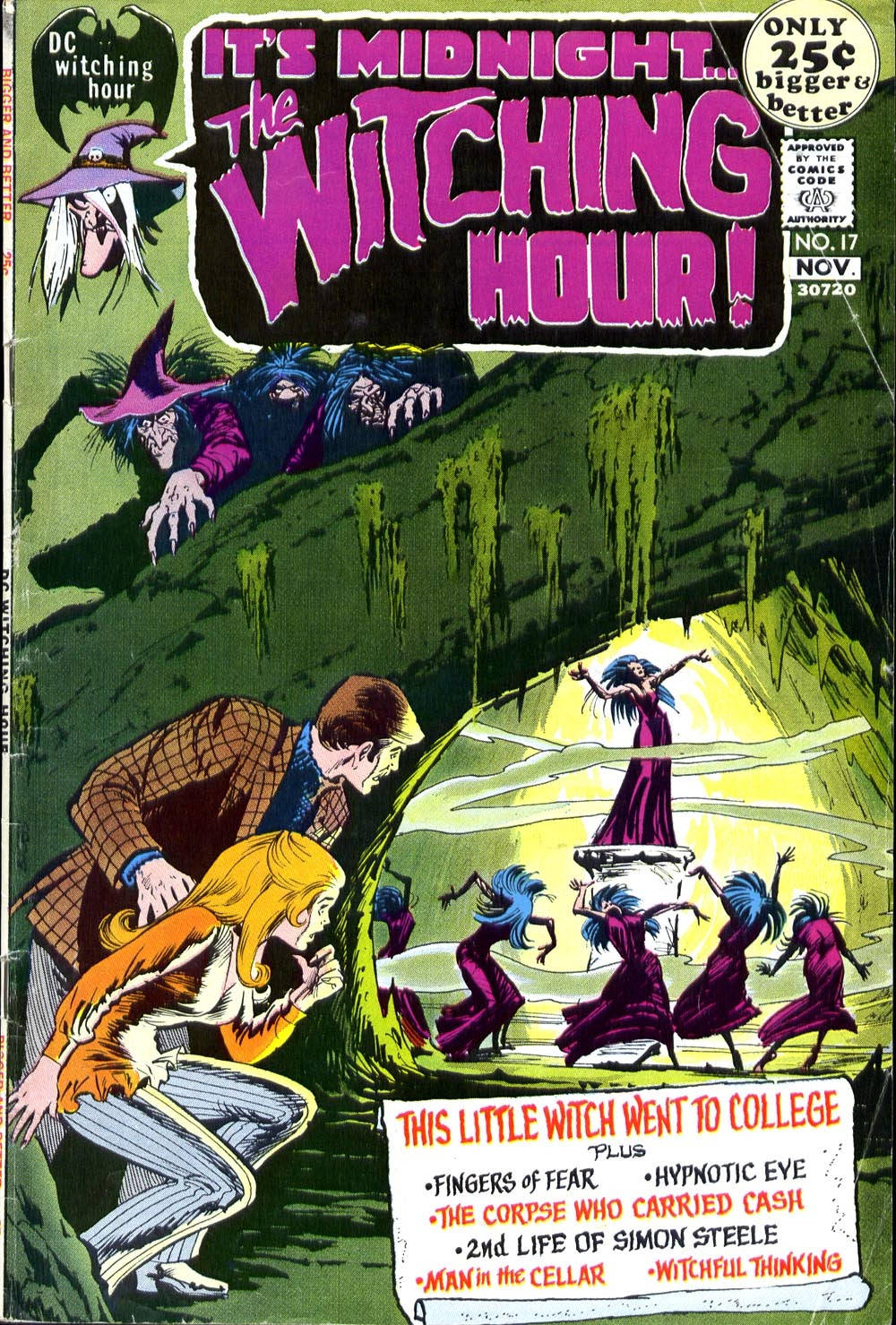 The Witching Hour (1969) issue 17 - Page 1