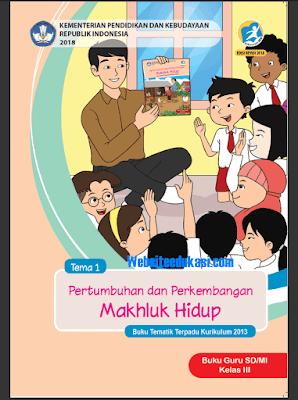 File Pendidikan Buku Kelas 3 SD/MI Kurikulum 2013 Revisi 2018