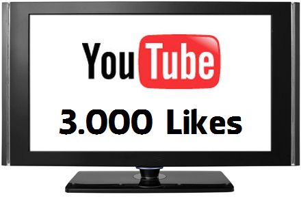 Buy 3000 YouTube Likes