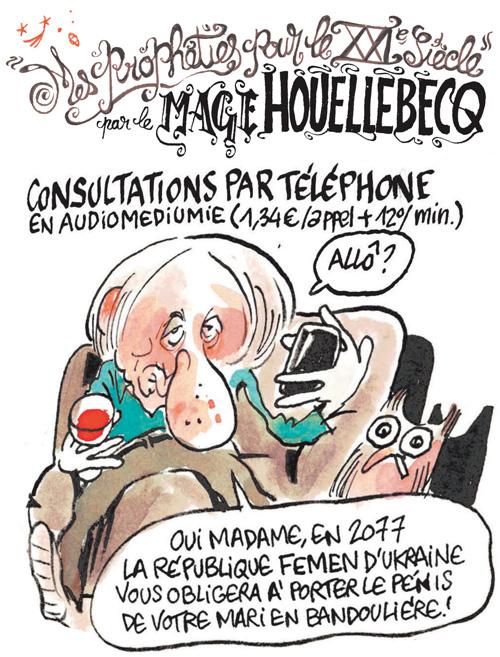 Chi invece ha qualche familiarità con Houellebecq 30b63a577d91