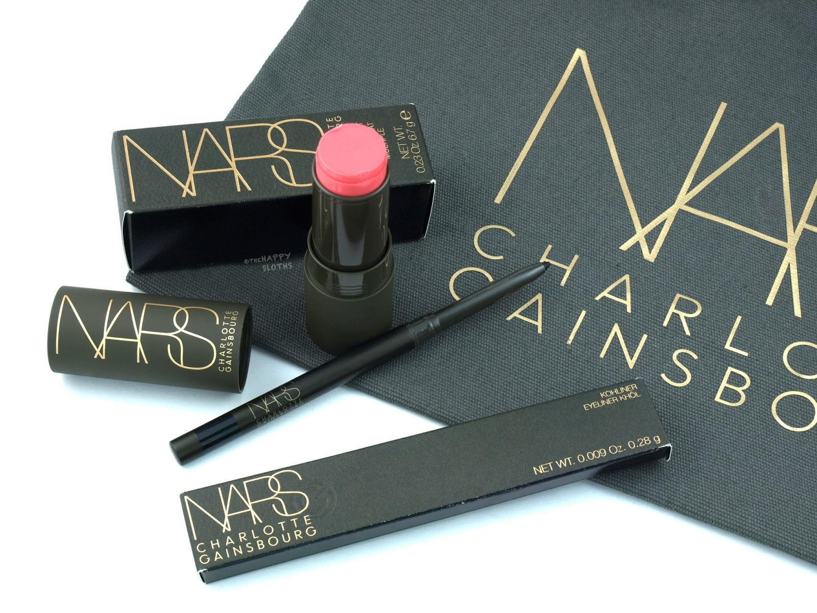 NARS x Charlotte Gainsbourg Collection: Review and Swatches